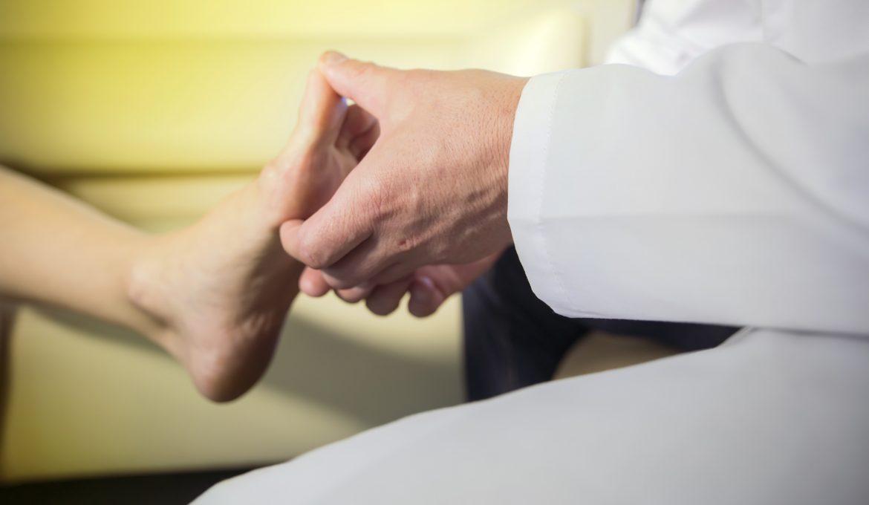Badanie stopy - operacje na haluksy